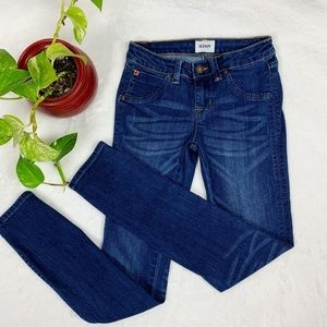 HUDSON Girls Skinny Flap Pocket jeans 12